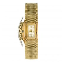 Montre bijou de dame or et diamants