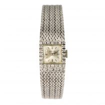 Montre femme or blanc diamants Marvin