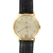 Montre Homme Lip Calendrier Vintage Or