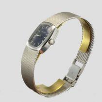 Montre or blanc femme vintage Certina