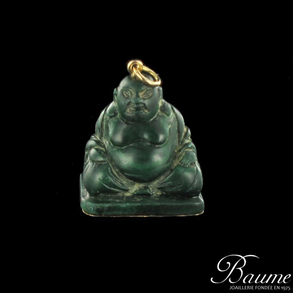Pendentif bouddha malachite