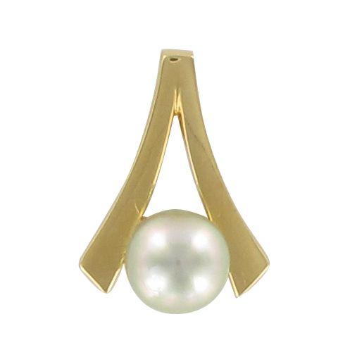 Pendentif or perle de tahiti