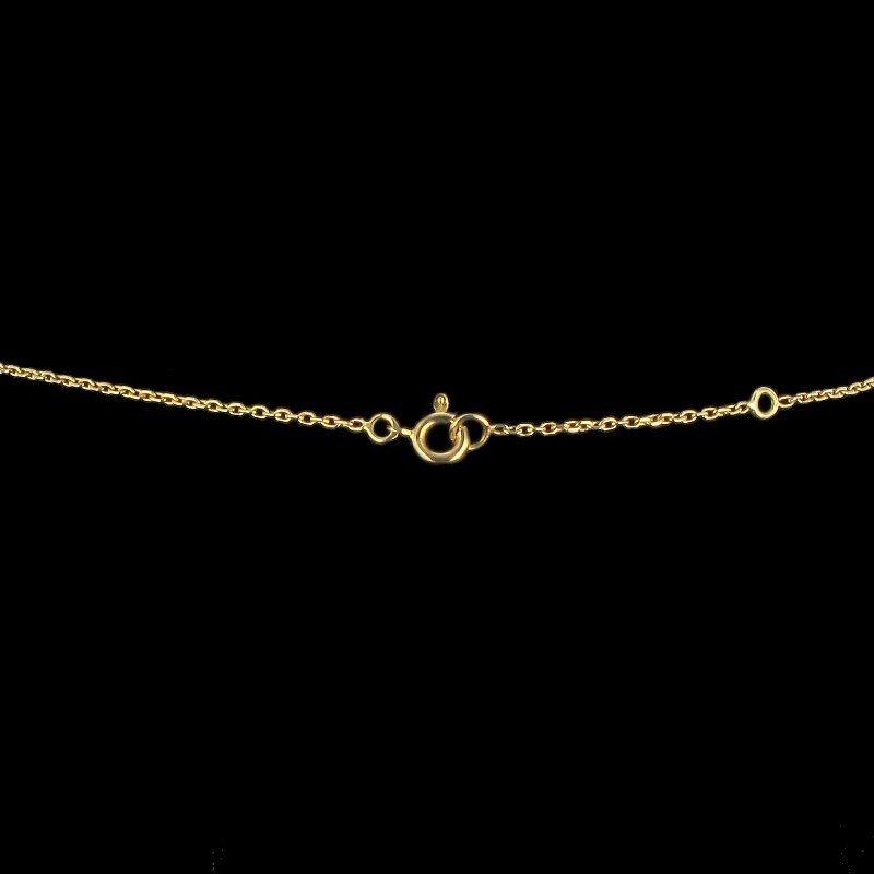 Pendentif Perle baroque, perles et diamant