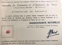 Rhodocrosite naturelle