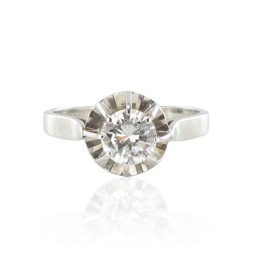 Solitaire diamant 0.80 carat