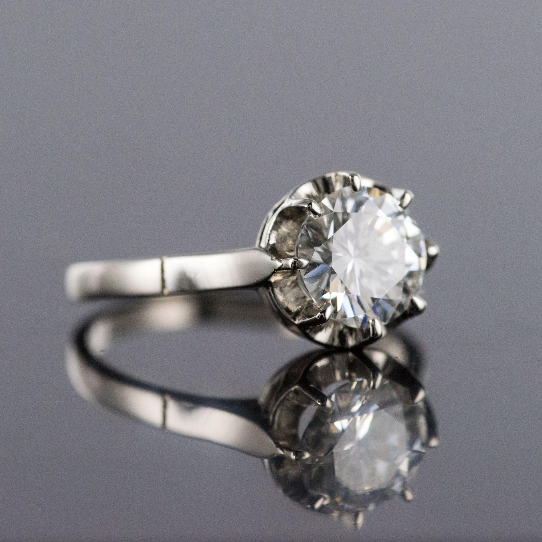 Solitaire diamant 1,50 carat