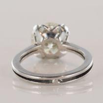 Solitaire diamant 3,20 carats