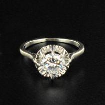 Solitaire diamant femme 1.50 carat