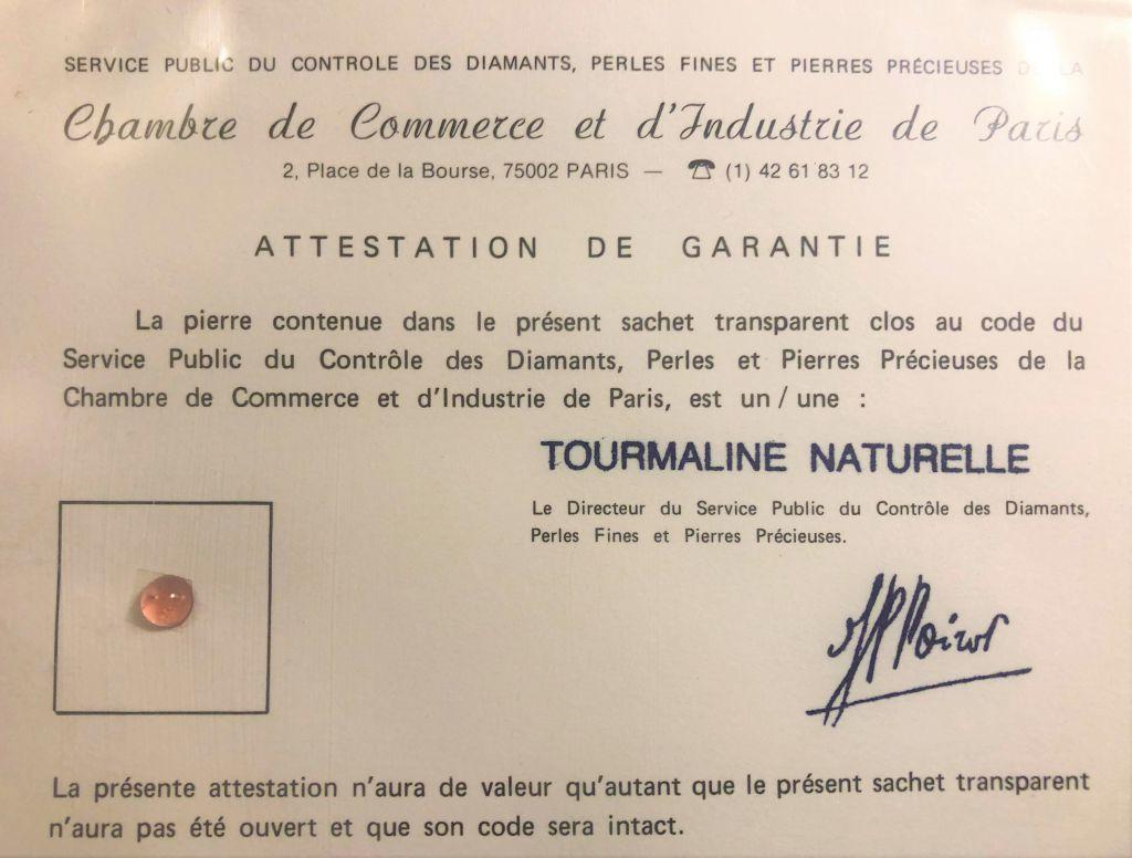 Tourmaline naturelle